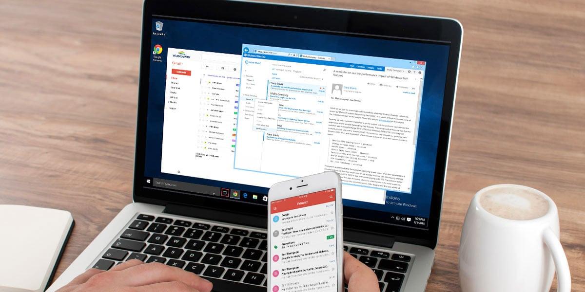 Gmail para Empresas - Compatibilidad