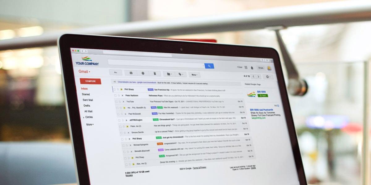 Personaliza Gmail con el dominio y logotipo de tu empresa