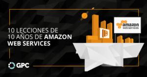 10 lecciones de 10 años de Amazon Web Services